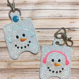 ITH Snowman Sanitizer Holder 4×4 and 5×7 included- Embroidery Design – DIGITAL Embroidery DESIGN