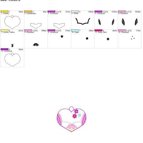 Valentine Long hair princess eyelet 4×4