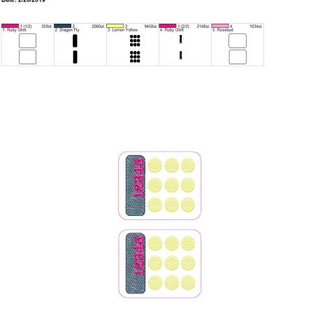 Play Money calculator 5×7 grouped