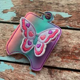 ITH 3D Butterfly Sanitizer Holders 4×4 and 5×7 included- Embroidery Design – DIGITAL Embroidery DESIGN