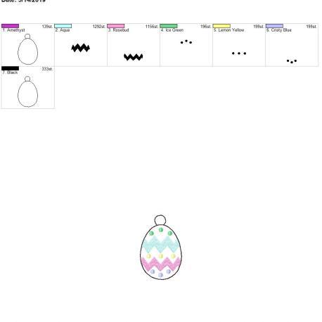Easter Egg Eyelet 4×4