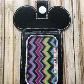 ITH Mr. Mouse ID/Wallet Holder – 5 x 7 – DIGITAL Embroidery design