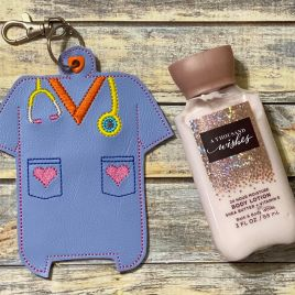 ITH Healthcare Hand Lotion Holder 5×7 included- DIGITAL Embroidery DESIGN