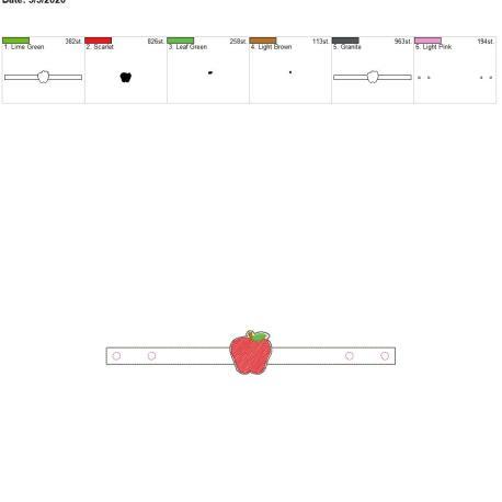 Mask Extender Apple 6×10