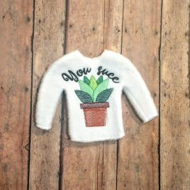 ITH – You Succ Sweater 5×7 – Digital Embroidery Design