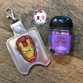 ITH Iron Hero Sanitizer Holders 4×4 and 5×7 included- DIGITAL Embroidery DESIGN