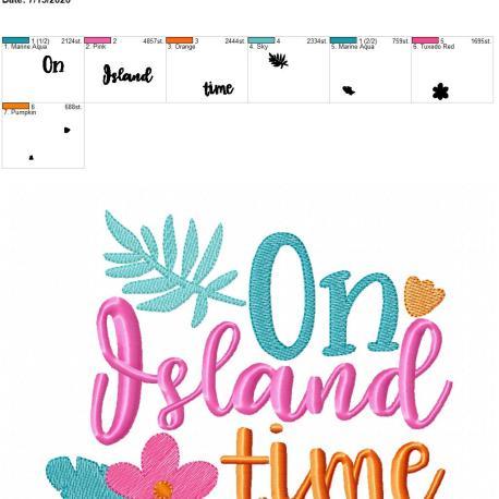 on island time 6×10