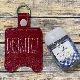 ITH Disinfect Sanitizer Holders 4×4 and 5×7 included- DIGITAL Embroidery DESIGN