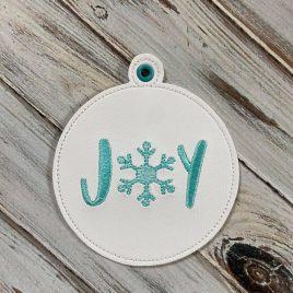 ITH – Joy Ornament – Digital Embroidery Design