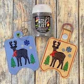 Farmhouse Deer Sanitizer Holders – DIGITAL Embroidery DESIGN