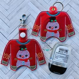 Ugly Sweater Sanitizer Holders – DIGITAL Embroidery DESIGN