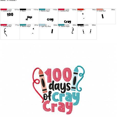 100 days of cray cray 4×4
