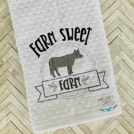 Farm Sweet Farm – 3 sizes- Digital Embroidery Design