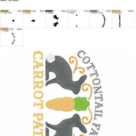 Cottontail Farm Carrot Patch 5×7