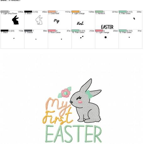 My first easter girl 4×4
