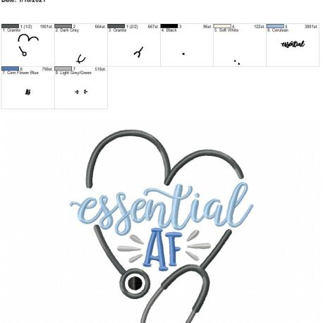 essential AF 5×7