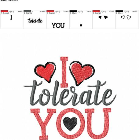i tolerate you 6×10