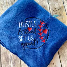 Hustle and Heart – 4 sizes- Digital Embroidery Design