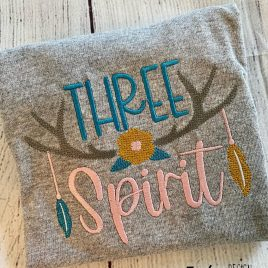 Boho Three Spirit- 4 sizes- Digital Embroidery Design