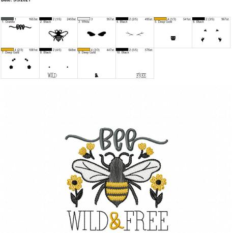 Bee Wild and Free 4×4