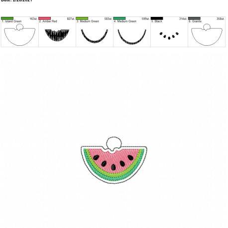 Watermelon Eyelet 4×4