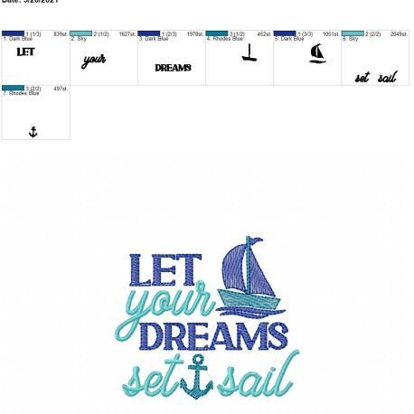 Dreams Set Sail 4×4
