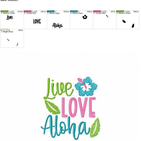 Live Love Aloha 4×4