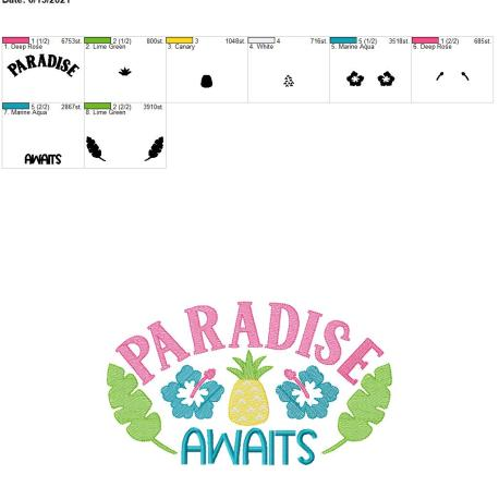 Paradis Awaits 8×12