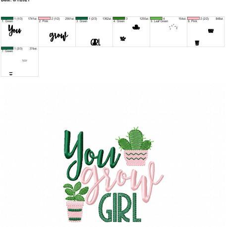 You grow girl 4×4