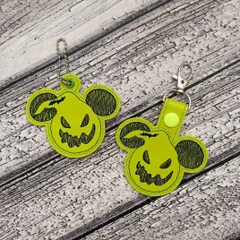 Oogie Mouse Fobs – DIGITAL Embroidery DESIGN