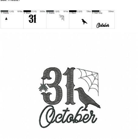 31 October 4×4