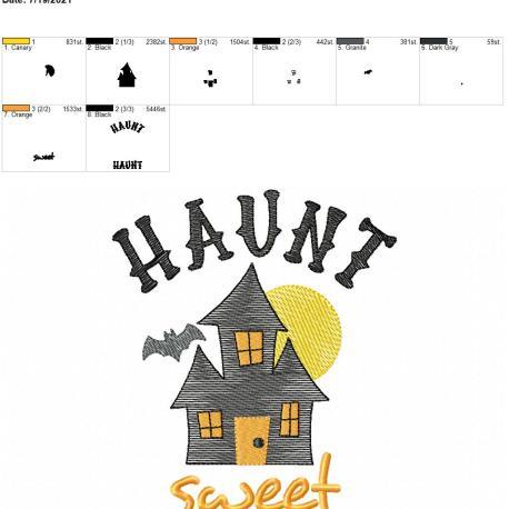 Haunt Sweet Haunt 5×7