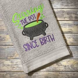 Stirring the Pot – 3 sizes- Digital Embroidery Design