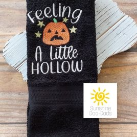 Feeling a Little Hollow – 3 sizes- Digital Embroidery Design