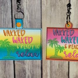 Vaxxed Waxed Vaccination Card Holders 5×7