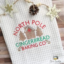 Gingerbread Baking Co – 3 sizes- Digital Embroidery Design