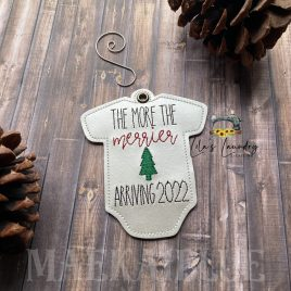 The More the Merrier 2022 Ornament – Digital Embroidery Design