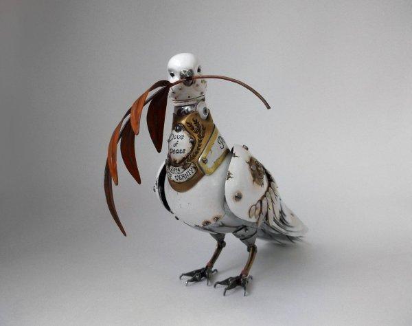 Steampunk Metal Art Sculptures Animals