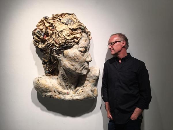 Paper Mache Art Sculpture