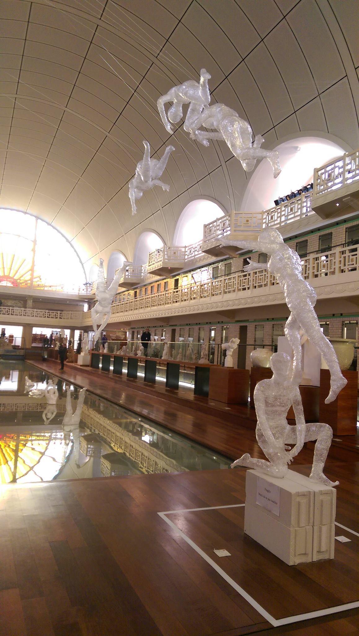 LESAAT au Muse de la Piscine de Roubaix Blog Graphiste  Sculptures photos Ver  Vie