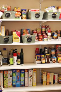 Chalkboard Tags and My Organized Pantry