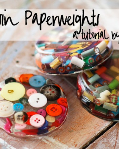 DIY Mini Project: Resin Paperweights & Coasters