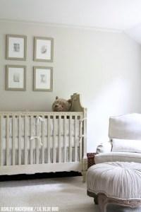 Neutral Nursery Decor Ideas - Restoration Hardware Inspired