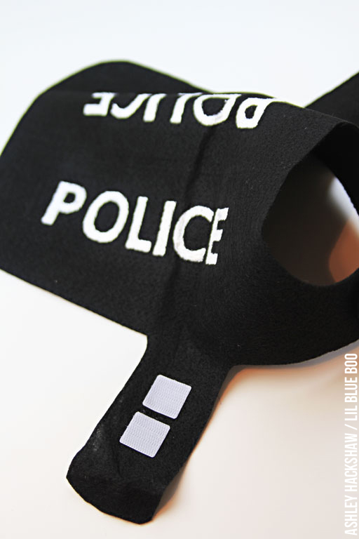 DIY Police Costume and K