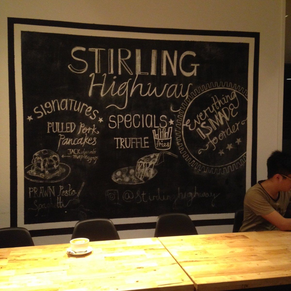 Pandan Valley Condo: Stirling Highway Cafe