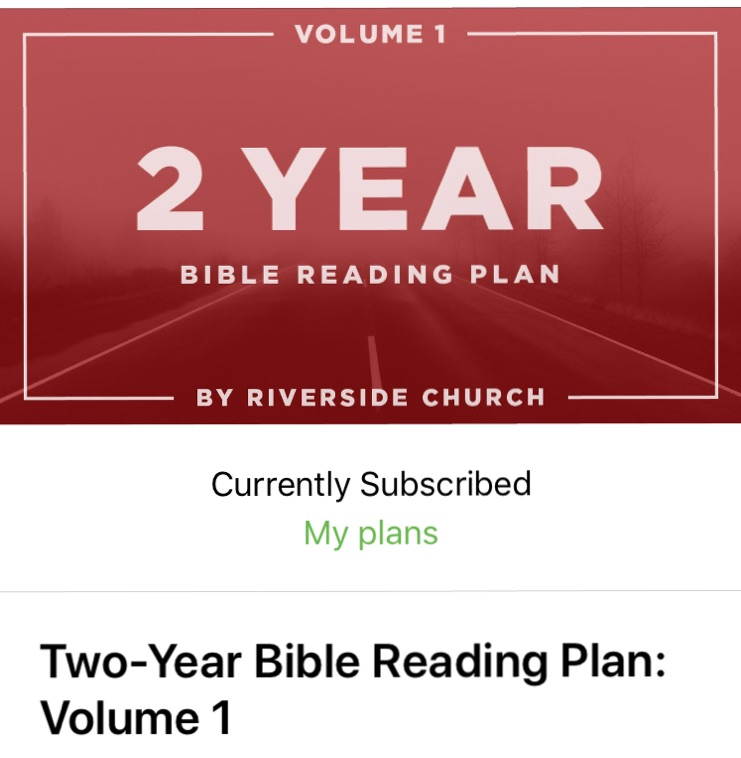 Bible Reading Plans – tips and good resources to help you