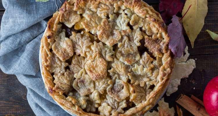 Classic Apple Pie | lilcupcakemonkey.com