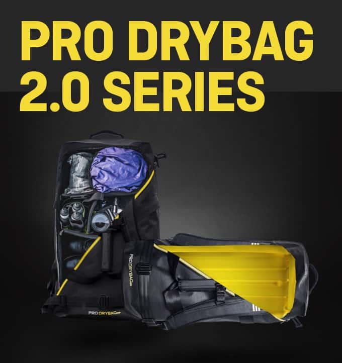 AWARD-WINNING PRO DRYBAG 2.0