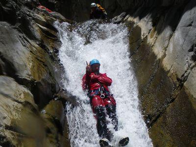 Activités : canyoning à cilaos à la Réunion
