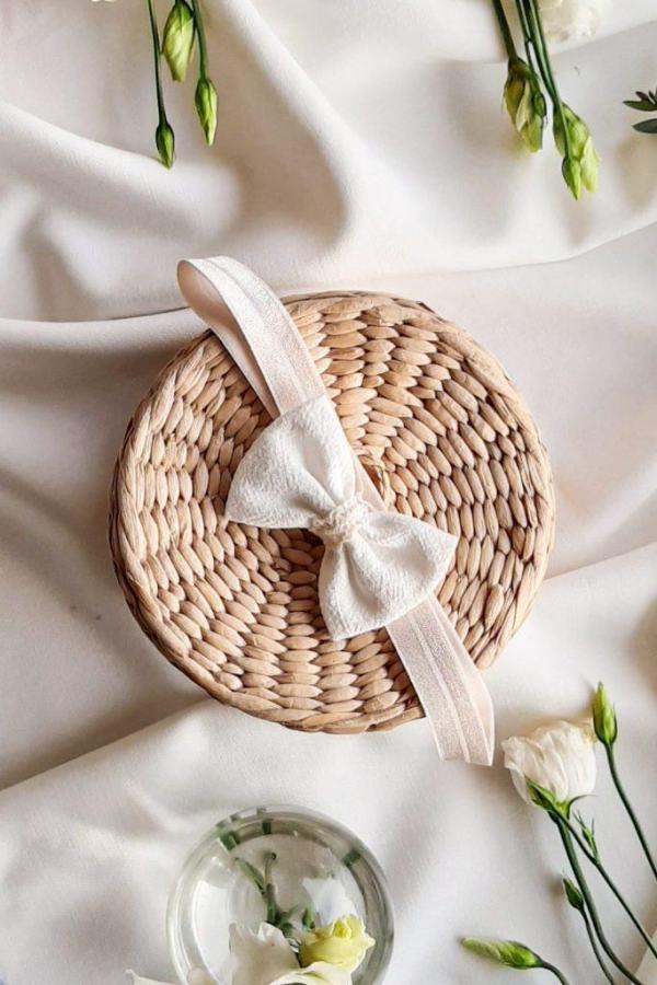 bezuciskowa-opaska-dla-niemowlaka-handmade-do-chrztu-na-roczek-lilen